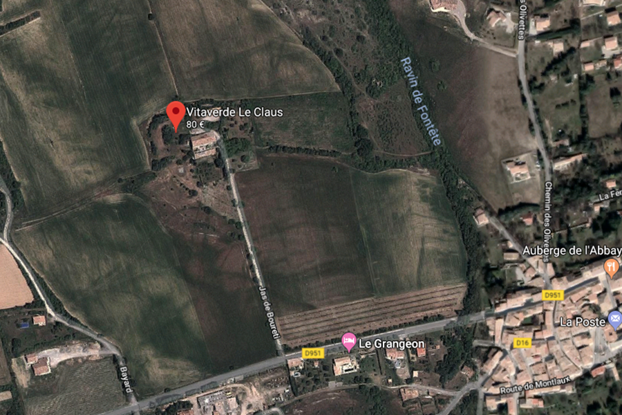 Plan d'accès La Bastide du Claus - Vitaverde