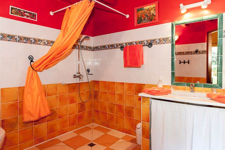 117 Salle de bain chambre Curry - Bastide-des-Pins
