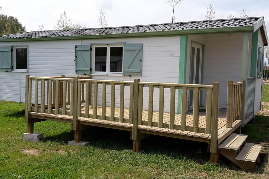 L'extérieur avec terrasse