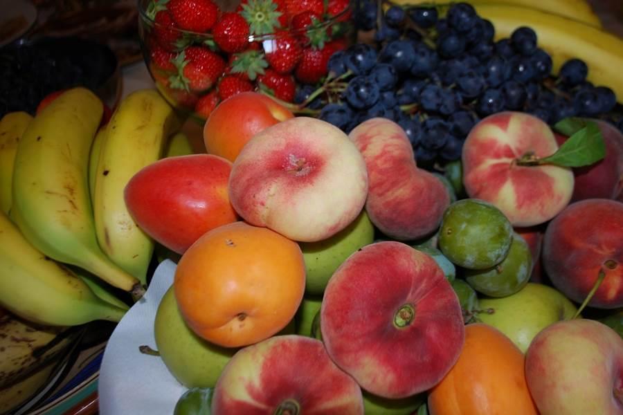 fruits de saison au petit déjeuner gourmandbrunch du Ranch des Lacs Hôtel 87120