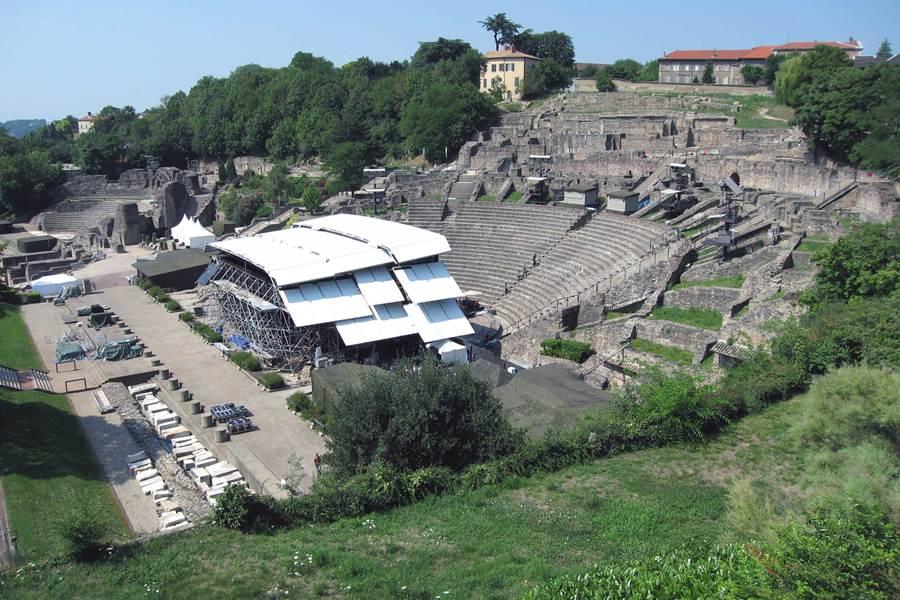 Site du Théâtre Antique de Lyon