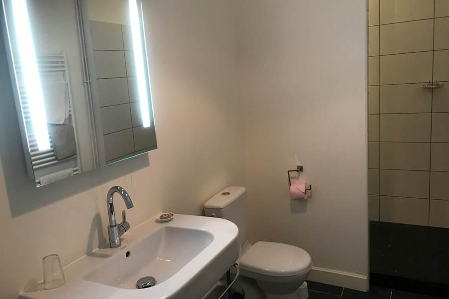 salle de douche Lys Blanc