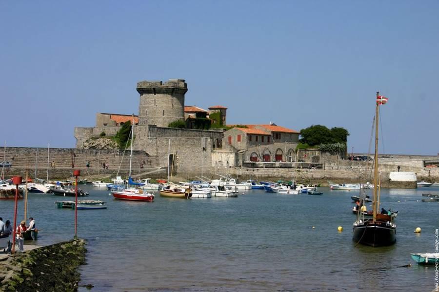 Visite_fort de socoa baie de St Jean de Luz