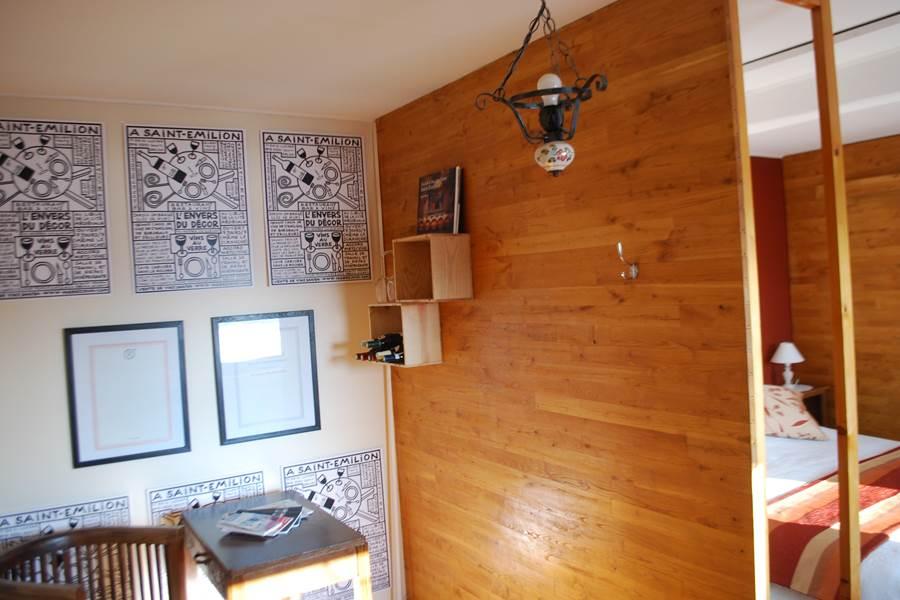 chambre L'R de Rien bureau et décoration Le Ranch des Lacs