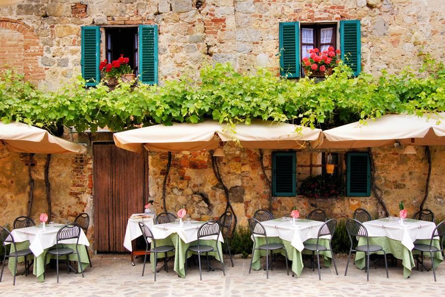 Restaurant du patio de la Maison des Oliviers
