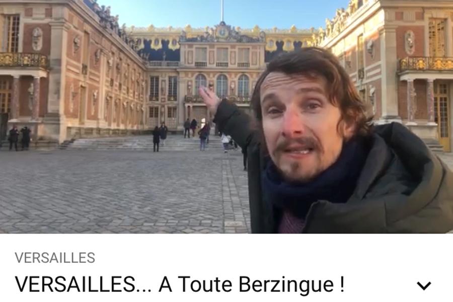 Versailles à toute berzingue
