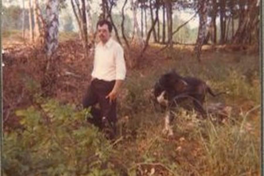 Monsieur Pierre-Henri COLAS et Olaf Année 1970