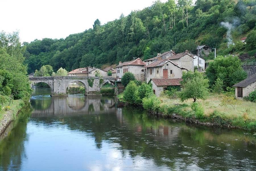 le pont de Noblat