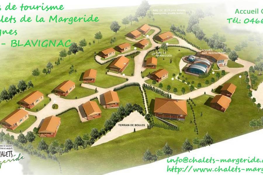 Plan 3D  du village