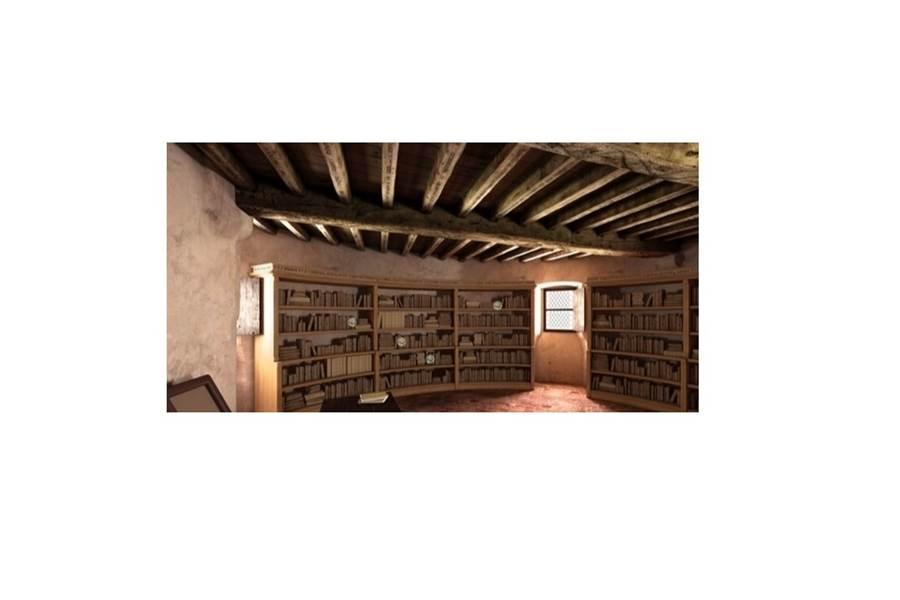 Reconstitution 3D de la bibliothèque