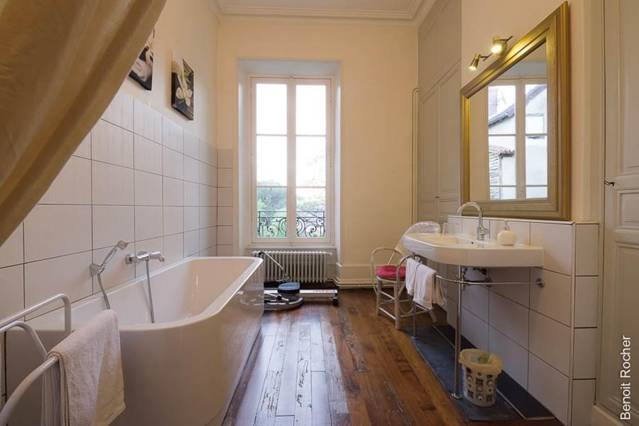salle de bain, vue jardin, fitness, parquet, nouvelle-aquitaine, mariage, EVJF