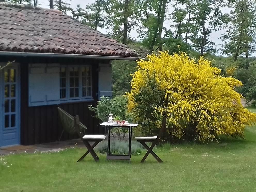 L'Atelier maisonnette de 40m² en bois sur l'airial