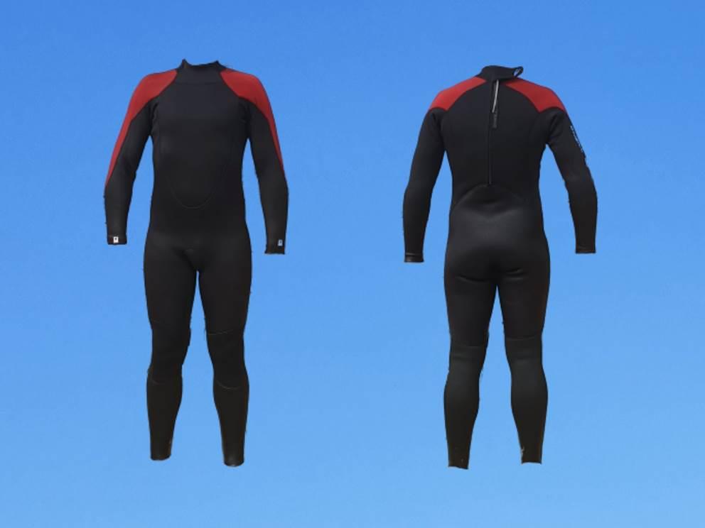 Concept Sport Émotion _ Combinaison néoprène _  Merci à notre mannequin Nico