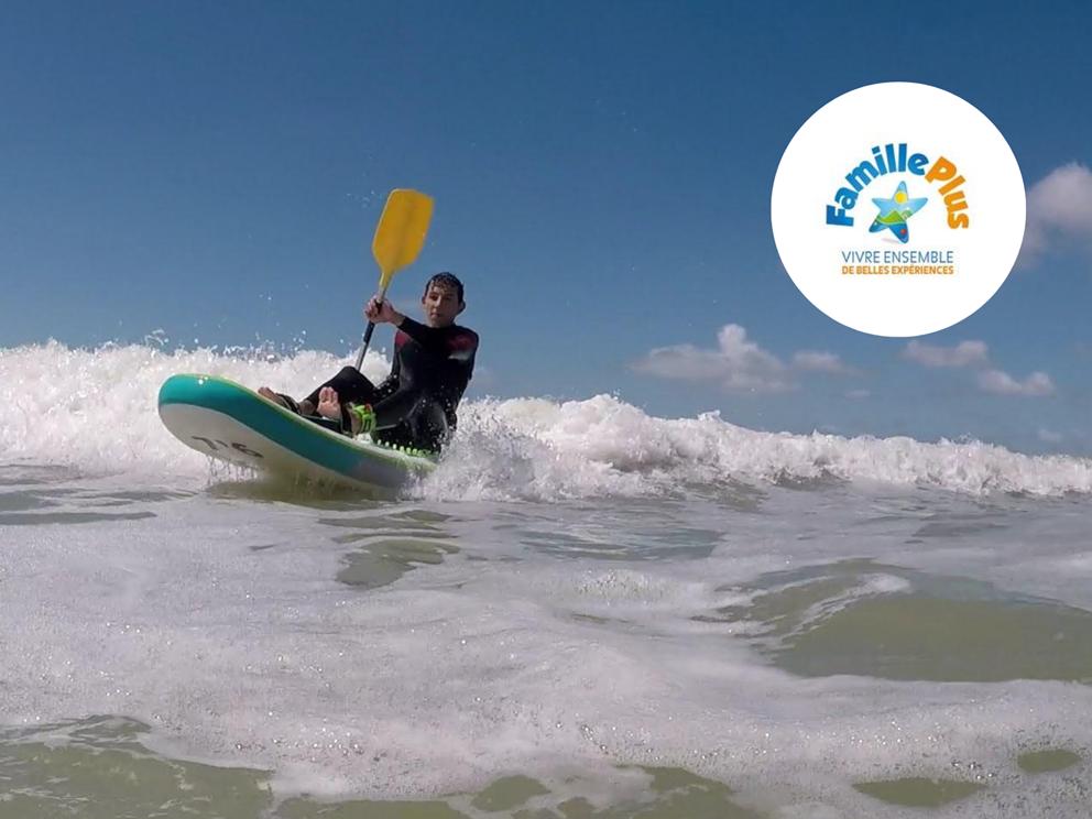Concept Sport Émotion _ Paddle Ado _ Kayak et Waveski