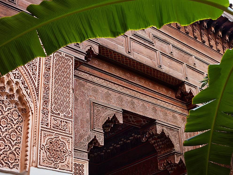 Palais de la Bahia, détails