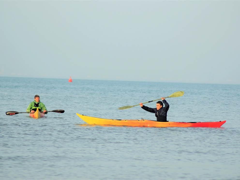 Cour particulier de kayaks