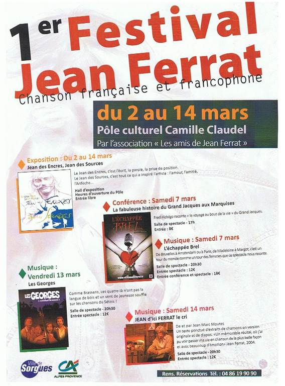 Exposition Jean des Encres, Jean des Sources