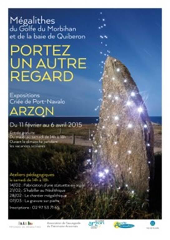 Exposition-mégalithes-arzon-morbihan-bretagne sud