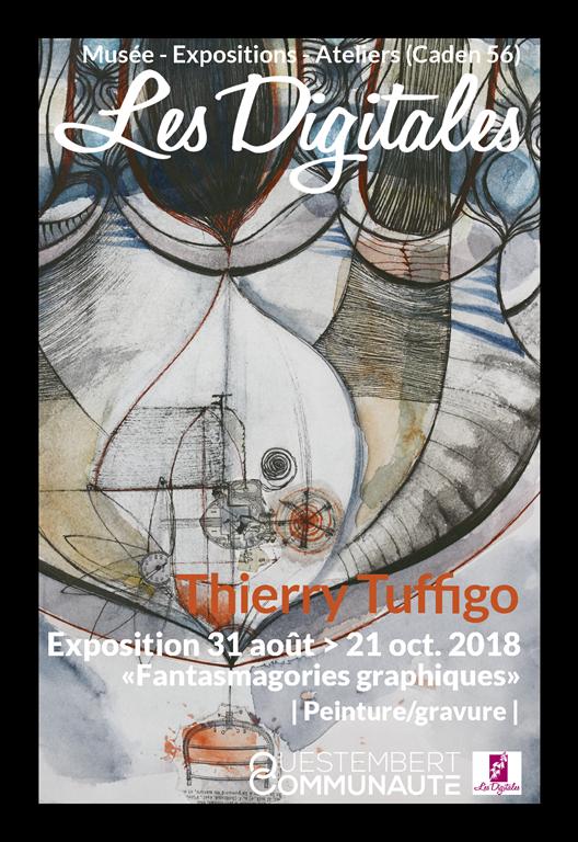 Image Exposition Fantasmagories Graphiques - Thierry Tuffigo