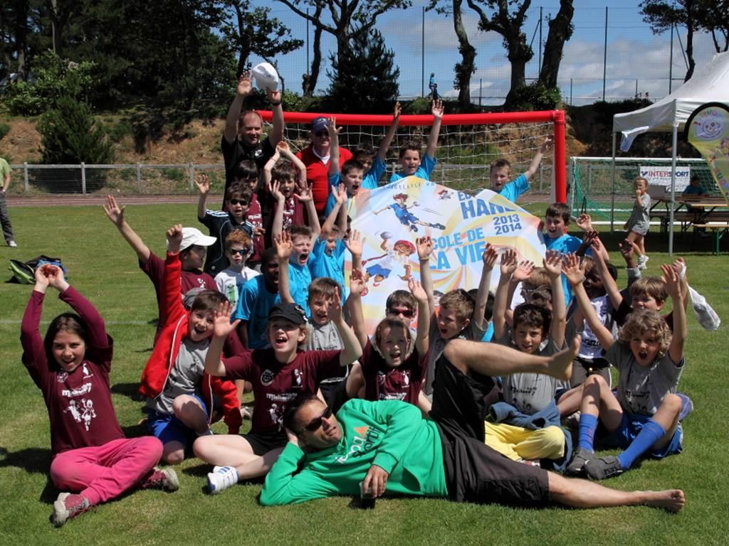 Handball : opération amène un copain ou une copine - Sarzeau - Morbihan - Bretag