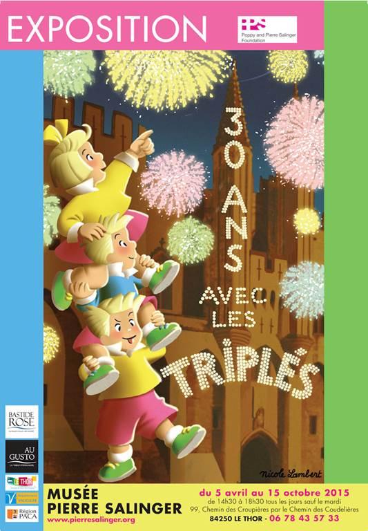 30 ans avec les Triplés