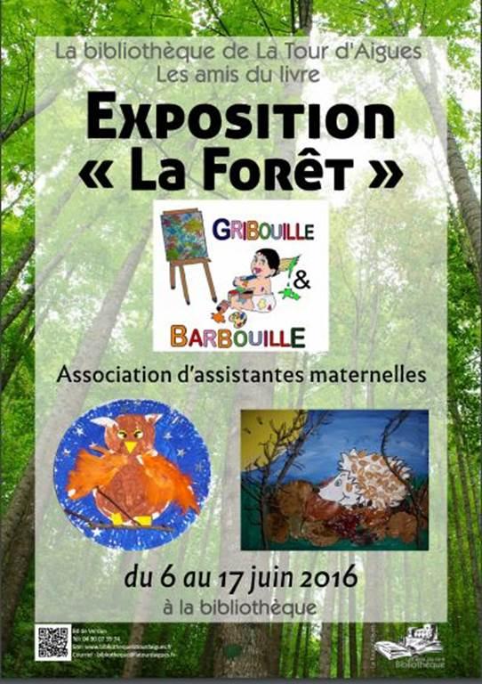 Exposition de l'association Gribouille Barbouille