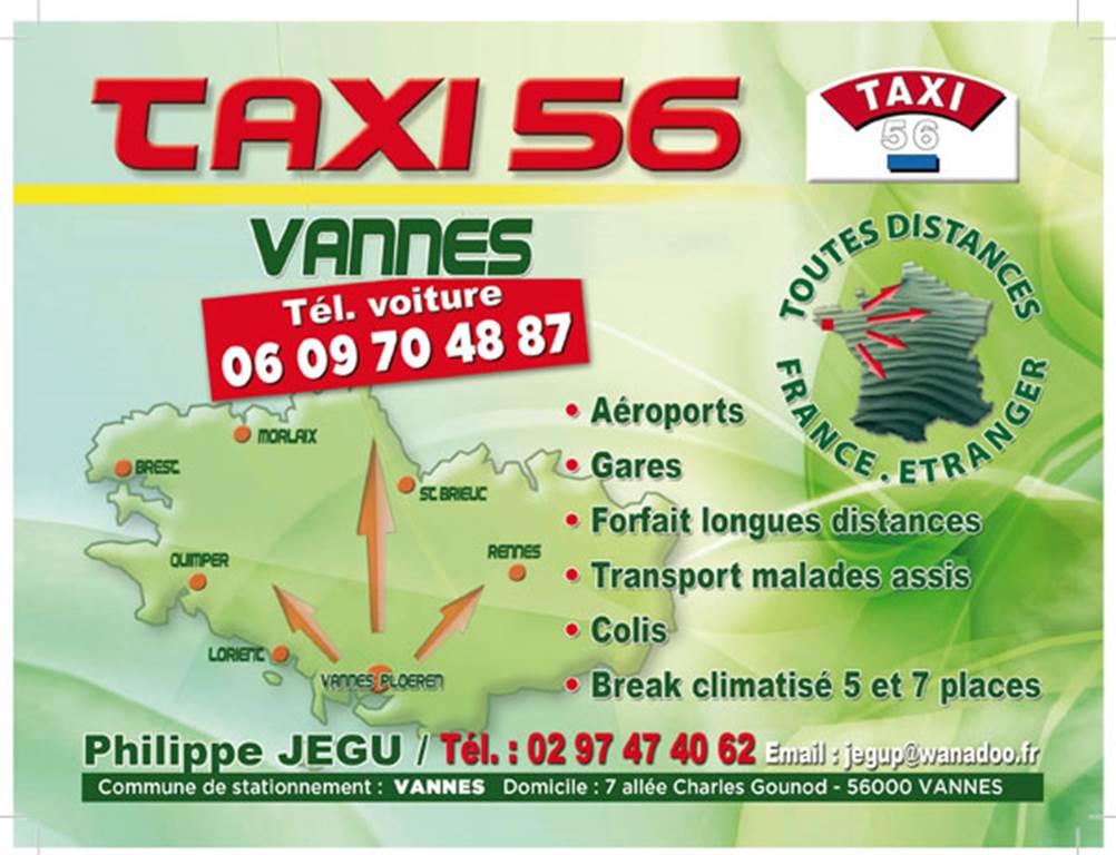 Taxi 56 Vannes