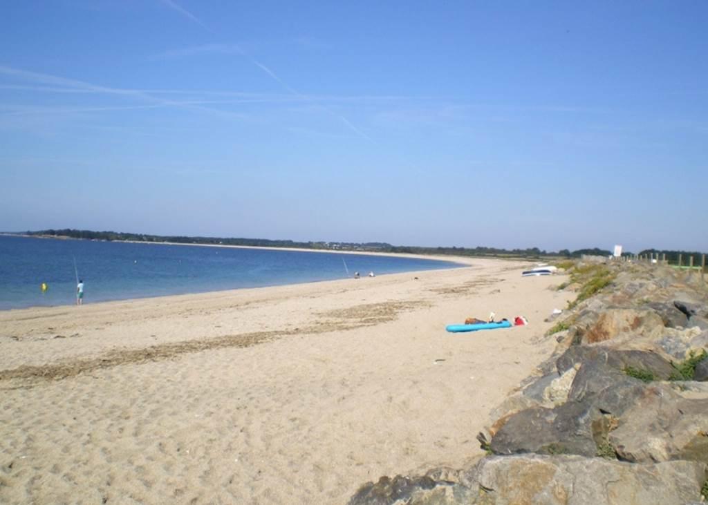 Plage-de-Landrézac-Sarzeau-Morbihan-Bretagne Sud