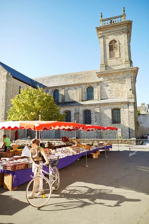 Marché-dimanche-Saint-Gildas-de-Rhuys-Morbihan-Bretagne Sud