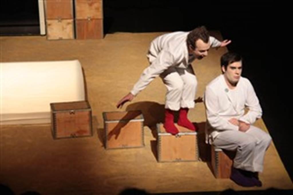 Théâtre : Miche et Drate, paroles blanches - Espace culturel l'Hermine - Sarzeau